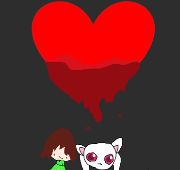 Undertale Crossover Madoka Magica Ship by animeredrose