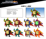 King K Rool (smash possible dlc) by birdman91