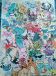 Pokemon I've used in teams through the gens pt1 by PsychoBerries