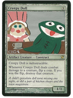 Creepy Doll: Clyde Frog and Polly Prissypants by abiogenic