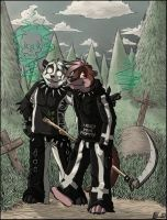 Deadly Friends by GothWolf-Lucifur