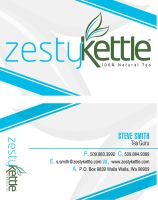 Zesty Kettle Bis Card by EvasiveMedia