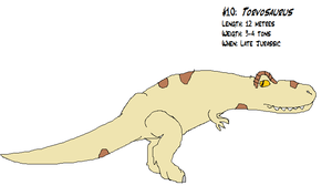 #10: Torvosaurus by koopalings98