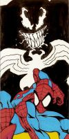 Spidey and Venom by CrimeRoyale