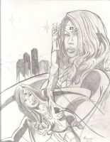 Angel 23 Con only sketch cover issue 1 by UltimateInker