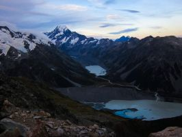 By Mt. Cook, New Zealand by Ashtyn-Renee