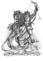 Bowhunting by AnsticeWolf