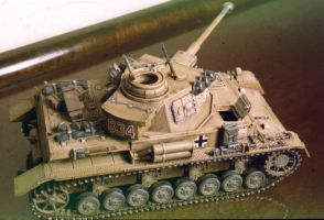 Panzer IV scale 1 35th by marshon