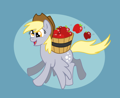 Apples are not meant to fly! by 9CentsChange