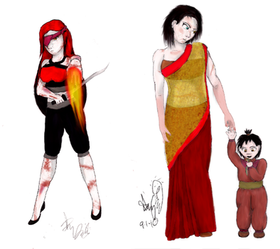 Before and After: Motherhood by halfatheory357