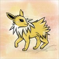 Jolteon by Jasmiijn