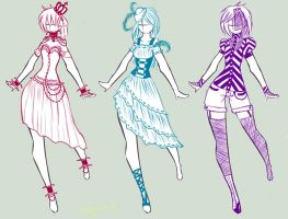 More Fashion Designs by IvoryTeacup