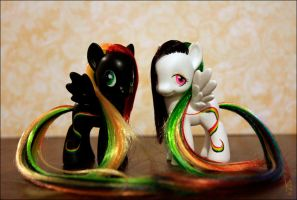 MLP: Rainbow twins by Fjodor