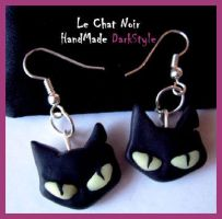Bad Kitty by LeChatNoirHandMade
