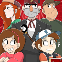 Here In Gravity Falls by HanaNoTenshi