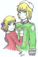 APH Brother and Sister by TwinCandles