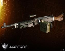 M240B [ WARFACE ] by Goreface13