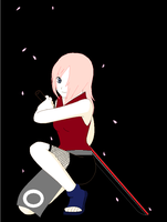 Akane with her Katana by BadassSakura03