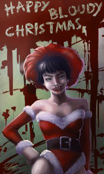 Happy Bloody Christmas by pictsy