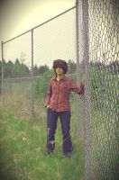 Chain Link Fence by mai-nightmare