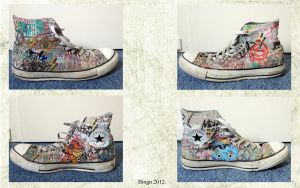 My Custom Converse by BingoRock16