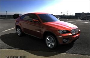 Bmw x6 by Artsoni3D