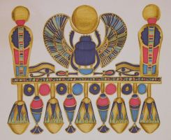 Amulet of Tutankhamen by Art-ifact
