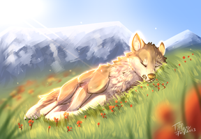 {The dog days are over} by snowpups123