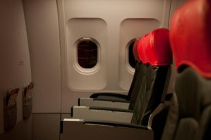 The first row AirAsia by SantiBilly