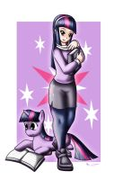 Human Twilight Sparkle by Evil-Rick