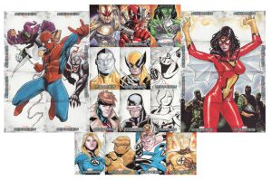 Marvel Beginnings Upper Deck by lazeedog