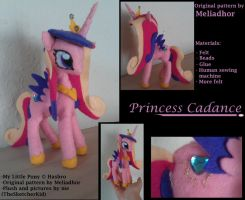 MLP - Princess Cadance Plush by TheSketcherKid