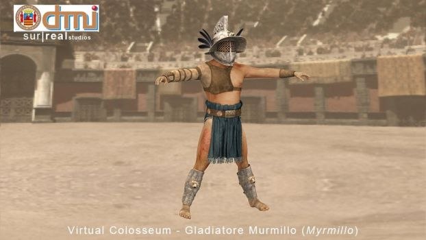 Gladiator: Myrmillo by Ivano-S