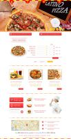 Fastfood Site Interface by dabbex30