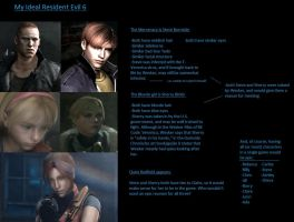 My Ideal RE6 by revenantSOULx3