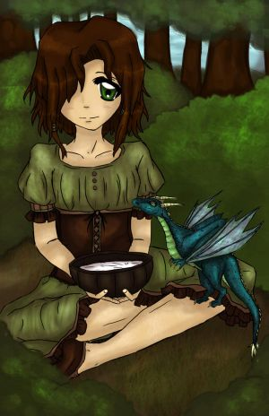 Maud and the Wyvern