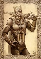 Commission: Kain by Philiera