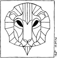 Lion Mask by veraukoion
