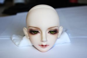 Close-up of Shiki's Face-up by NyteRain