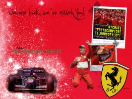 Schumacher Wallpaper by Triinukas