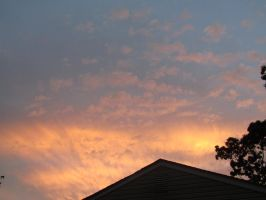 Sunset Clouds by FaultyStar15