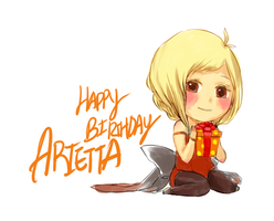 Happy Birthday Arietta by Otaku1001