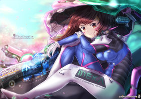 D.Va - Overwatch by chinchongcha