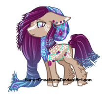 Vaughn's Quipu Pony OC by Kuro-Creations