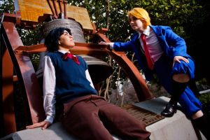 JJBA: Wanna play, Johnathan? by Glass-Rose-Prince