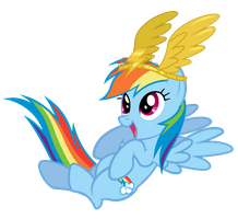 Rainbow Dash - Best Young Flier by Dharthez
