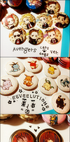 Anime Expo: Button Inventory by riingo