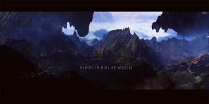 Aurelia and The Blue Moon by MuhammadRiza