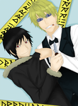 Shizuo and Izaya - DRRR!! by Manic-Sparkles