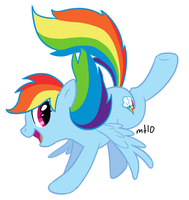 Rainbow Dash by empty-10
